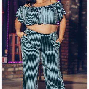 Pants - Plus size two piece